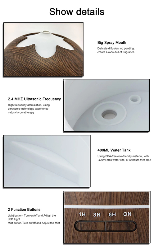 Ultrasonic Atomizer Plate Aroma Diffuser