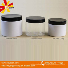 Cheap PET plastic cosmetic transparent jar
