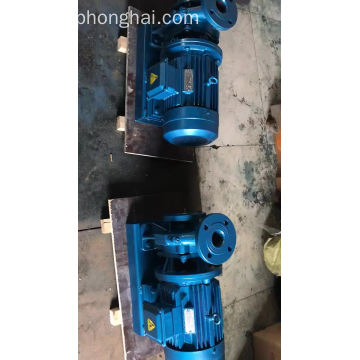 ISW industrial water electric motor pump para la venta
