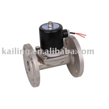 Stainless steel solenoid valves Flange connection