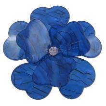 Gets.com bijoux en acrylique pendentif en argent antique