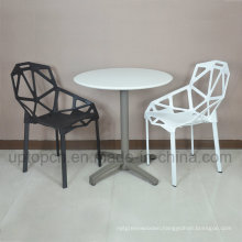 Wholesale Triangle Hollow Chair and Round Table for Cafeteria Restaurant (SP-CT350)