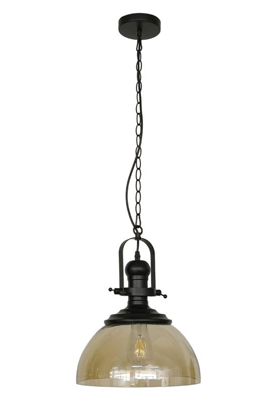 Amber Color Pendant Lamp