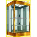 Ascenseur panoramique de haute qualité avec machine sans pièce