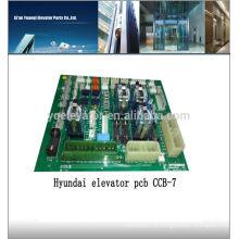 Hyundai ascenseur carte de circuit imprimé CCB-7 panneau élévateur à vendre