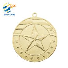 Maratón adaptable del precio de fábrica del diseño libre Ninguna orden mínima Medallas del deporte del metal a dos caras del premio
