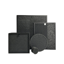 honeycomb HEPA filter, round activated carbon HEPA