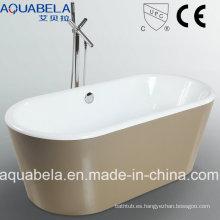 Cupc aprobó bañera de acrílico de la bañera de la tina muebles de baño de los artículos sanitarios (JL607)