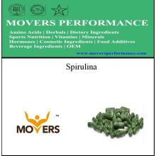 Plant Source: Spirulina Capsules