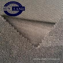87% polyester 13% spandex melange single jersey fleece fabric