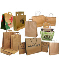 Paper lunch bags for packing