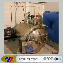 Steam Water Spray Sterilizer Autoclave Retort for Glass Jars