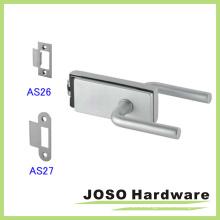 Нержавеющая сталь Полая металлическая рамка Стеклянная дверная блокировка (GDL019B-1)