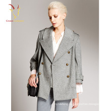 Новая Мода Монгольский Кашемир Пальто Женщин Зимнее Пальто
