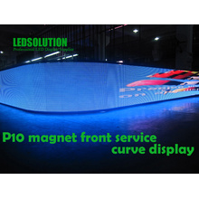 Customized Indoor and Outdoor Curved LED Display