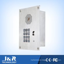 Weatherproof Emergency Telephone Door Telephone with Handfree