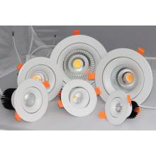 9W ~ 50W CREE COB Plafond encastré LED Downlight
