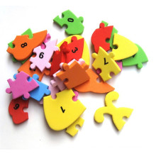 Learning & education handmade mosaic sponge paper model toys eva puzzle assembly toy baby kids mermaid