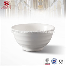 Deep ceramic novelty round cereal nesting bowls hot sale