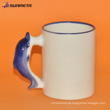 Sublimation Tier-leerer Becher Delphin