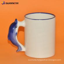 sublimation Animal blank mug dolphin