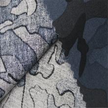 Tecido de impressão de camuflagem de popeline de algodão