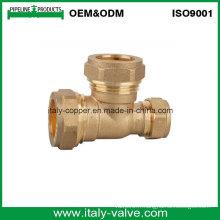 Tissu certifié en compression forgé en laiton certifié ISO9001 (AV7016)