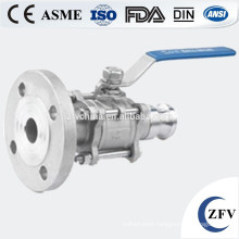 Forged Steel Stainless Steel Fixed Flange Ball Valve