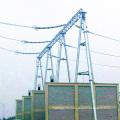 Структура подстанции передачи энергии из стальных труб в форме двери 500 кВ