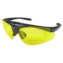 Óculos de polícia com a norma EN e ISO