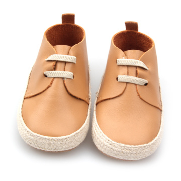 Genunie Leder-Fancy-Baby-Oxford-Schuhe