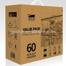 Упаковка рекламного пакета в коробке