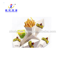 Customized Color!Unique Design Chips Paper Packing Box Easy Take Fast Food Boxes