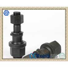 High Strength Auto Parts Grade 10.9 Carbon Steel Black Wheel Lug Bolts