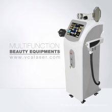 Cavitação ultra-sônica + rf + ipl + elight + laser para a máquina multifuncional da perda de peso da remoção da tatuagem do cabelo