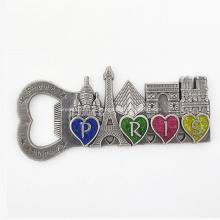 Metal feito sob encomenda do logotipo da imagem ima de geladeira