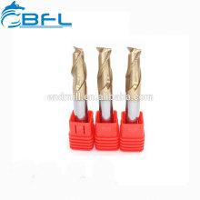 BFL-Karbid-Eckradius-Schaftfräser zum Schneiden von Stahl