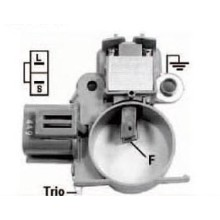 IM281 REGULATOR NAPIĘCIA ALTERNATORA, VR-H2009-28, YR-588,35-8355, UCJ205, 131471, 132977, A866T09170, A866X09170, A866X09171, A866X10271