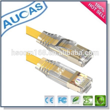 Cat5e utp rj45 kupfer stranded falt patch cord / systimax amp pass fluke flach patch kabel / china fabrik ethernet netzwerk kabel
