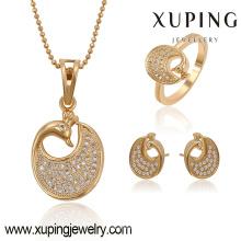 63773 Xuping fashion new design chapado en oro de las mujeres con zircon