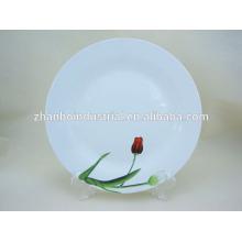 Plato de cerámica impreso personalizado