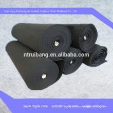 Pano de fibra ACF ativado tapete de purificador de ar de carbono