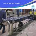 Línea de producción de granulación de reciclaje de mascotas de plástico
