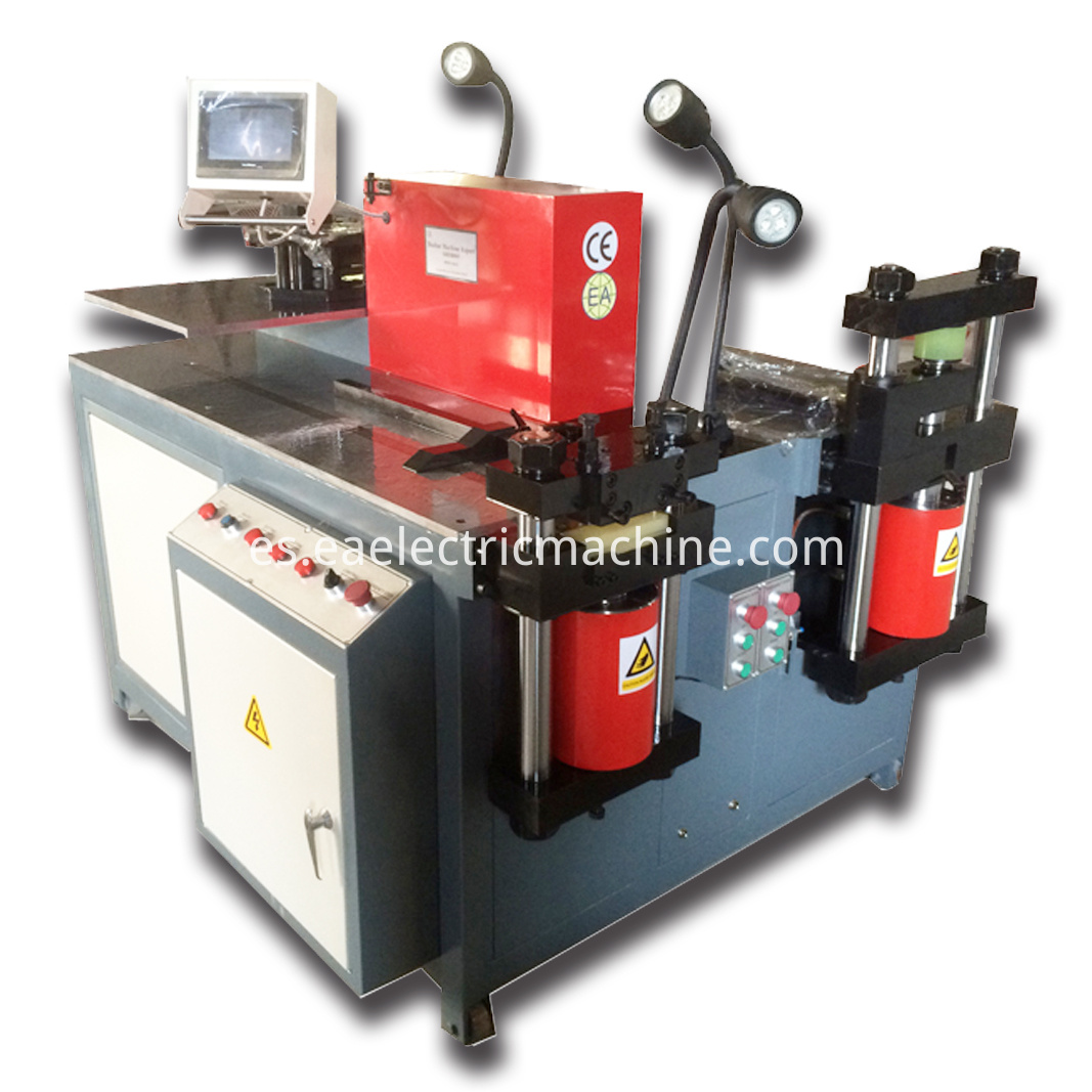 Automatic Busbar Punching Machine