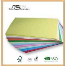 Papel de cópia de papel colorido offset não revestido de 80GSM A4
