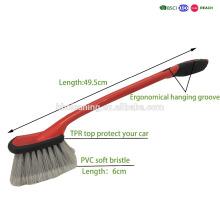 нескользящая ручка автомобиля щетки автошины легкий для хранения