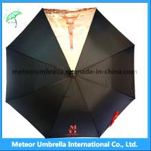 China Manufacturer Black Travel Umbrellas for Sale