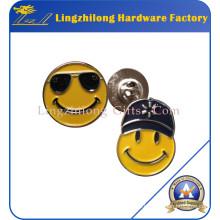 Benutzerdefinierte Runde Lächeln Gesicht Abzeichen