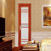 Feelingtop Thermal Barrier Casement Aluminum French Entrance Door