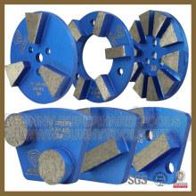 Outil de plat de béton de meulage de plancher de diamant (SYYH-09)